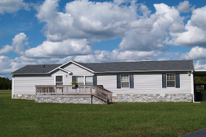 Nice doublewide manufactured home